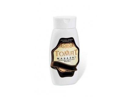 TOMFIT Masážní přírodní rostlinný olej Mandlový - objem 250 ml