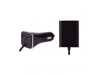 Univerzální USB adaptér do auta 7,3 A (36,5 W) max., kabelový