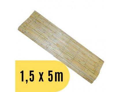 Rohož NATURCANE rákos štípaný 1,5 x 5 m