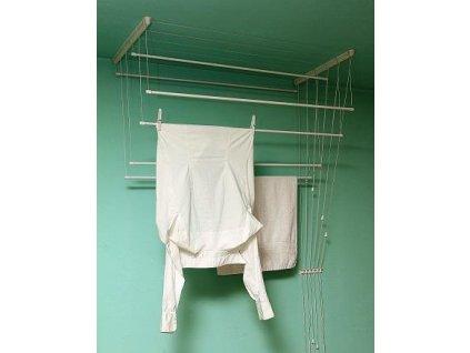 BENCO Stropní sušák na prádlo IDEAL 7 tyčí 130 cm