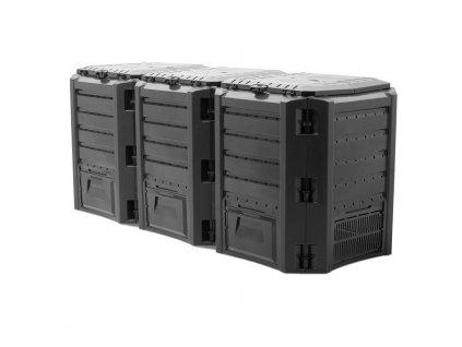 Kompostér Module Compogreen 1200 L - barva černá