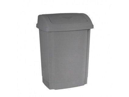 Odpadkový koš z recyklovaného plastu - objem 15 L