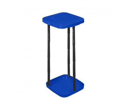 Držák odpadkových pytlů Stojan na odpadkové pytle - modrý