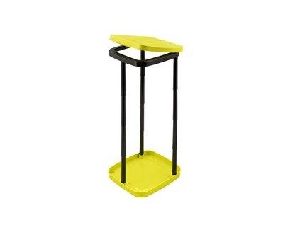 Držák odpadkových pytlů Stojan na odpadkové pytle - žlutý