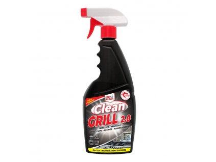 Clean GRILL čisticí prostředek na studené i teplé tuky 750 ml