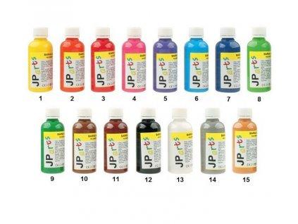 Barvy na textil, na světlé materiály, základní odstíny 50 g