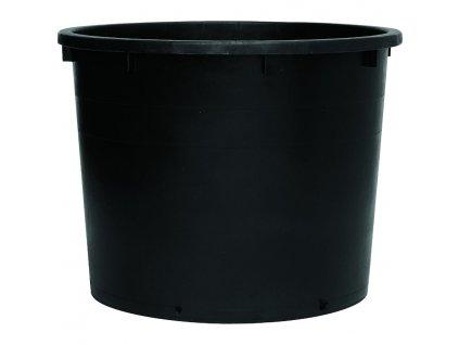 Sud na dešťovou vodu černý bez víka 500 l
