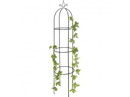 Opora pro popínavé rostliny, obelisk 40 x 40 x 190 cm
