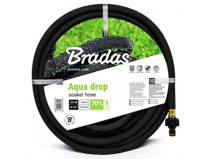 """Zavlažovací zahradní hadice AQUA-DROP 1/2"""" - délka 50m"""