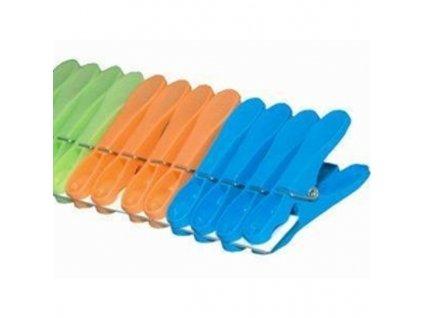 Kolíčky na prádlo JUMBO IDEAL 12 ks, pro sušák IDEAL