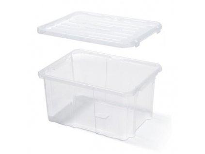 Plastový úložný box CARGOBOX 45 L s víkem