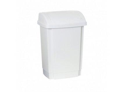 Odpadkový koš plastový bílý 25 L