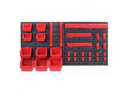 Tabule na nářadí, závěsný panel s boxy a držáky na nářadí ORDERLINE KOR4