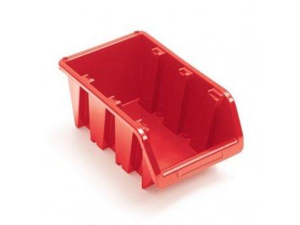 Box plastový na šroubky TRUCK 29 x 20 x 15 cm, KTR30 - barva červená