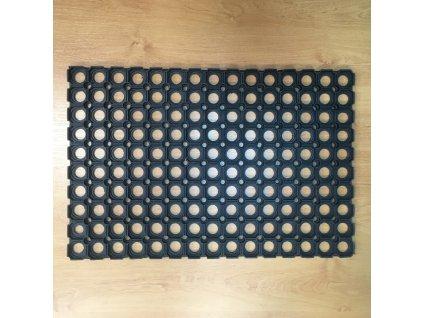 Rohož pryžová černá 40x60 cm