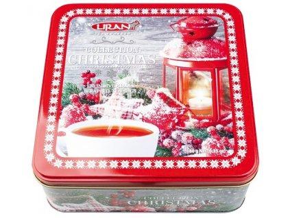 Vánoční balení černých, zelených, bílých čajů LAMPA, 6 x 20 x 1,5 g