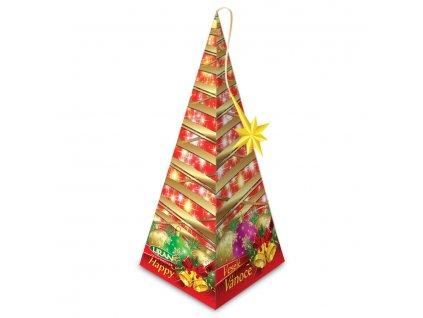 Vánoční balení černého čaje, jablko a skořice 20 x 2 g