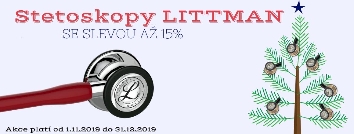 Stetoskopy Littmann se slevou až 15%
