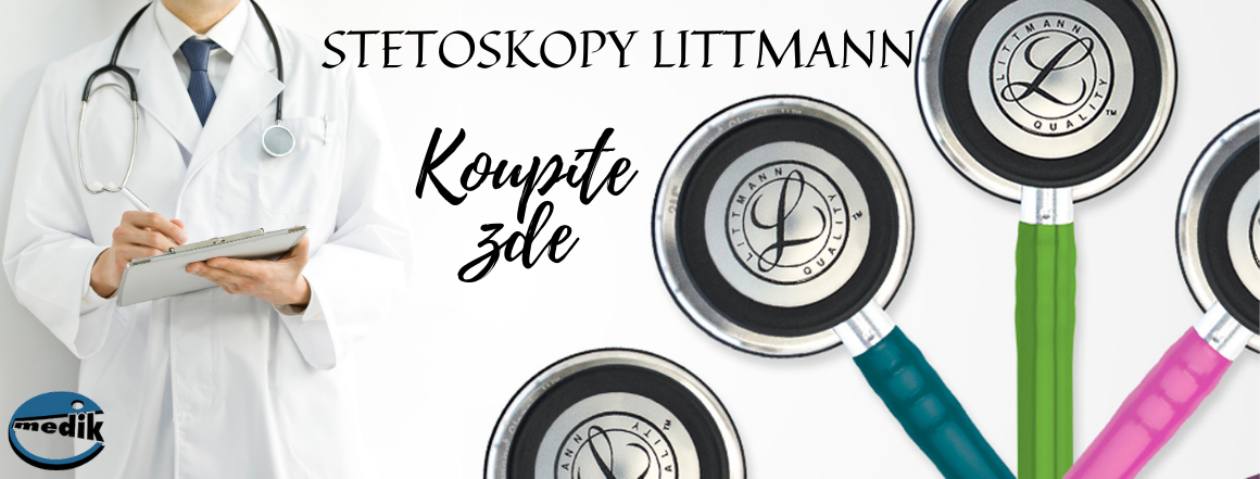 Nové barvy stetoskopů Littmann