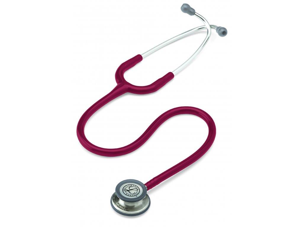 Stetoskop Littmann Classic III - burgundská červená  + záruční a pozáruční servis