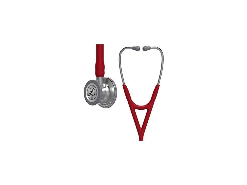 Stetoskop Littmann Cardiology IV - burgundská červená  + záruční a pozáruční servis