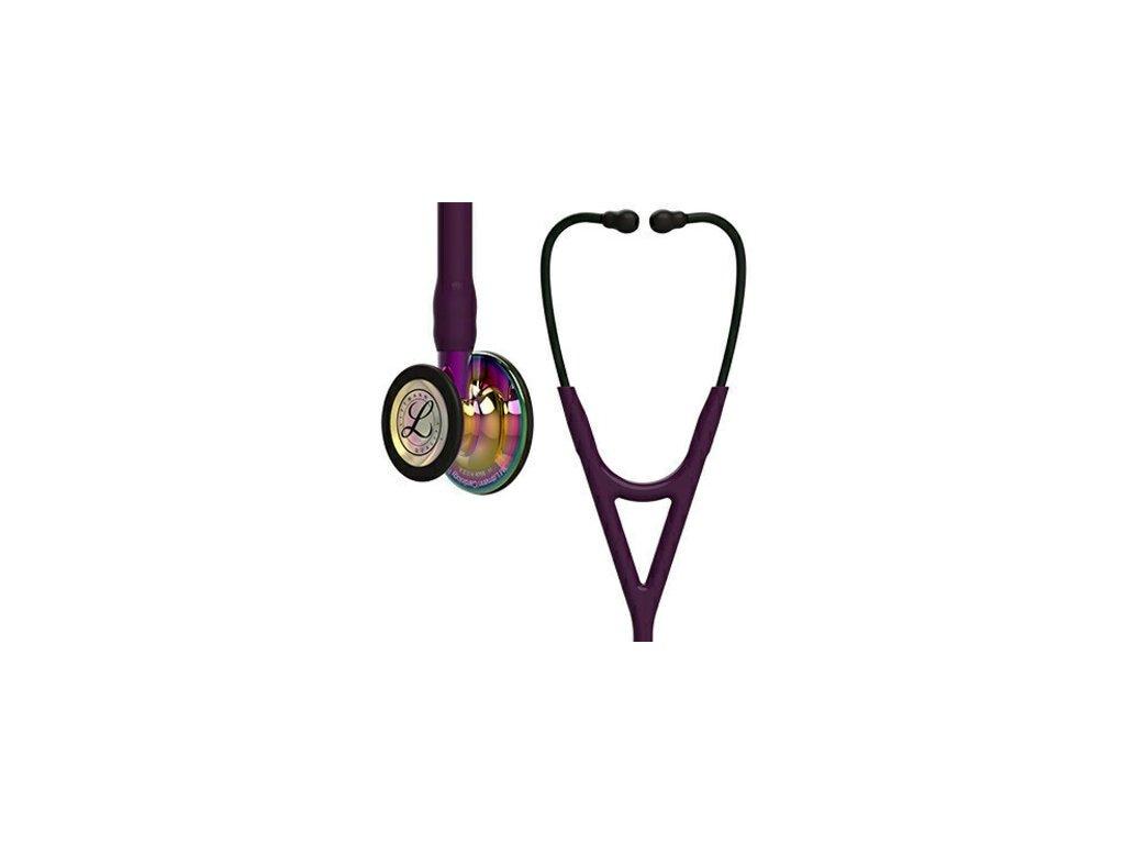 Stetoskop Littmann Cardiology IV - lesklý duhový hrudní snímač  + záruční a pozáruční servis