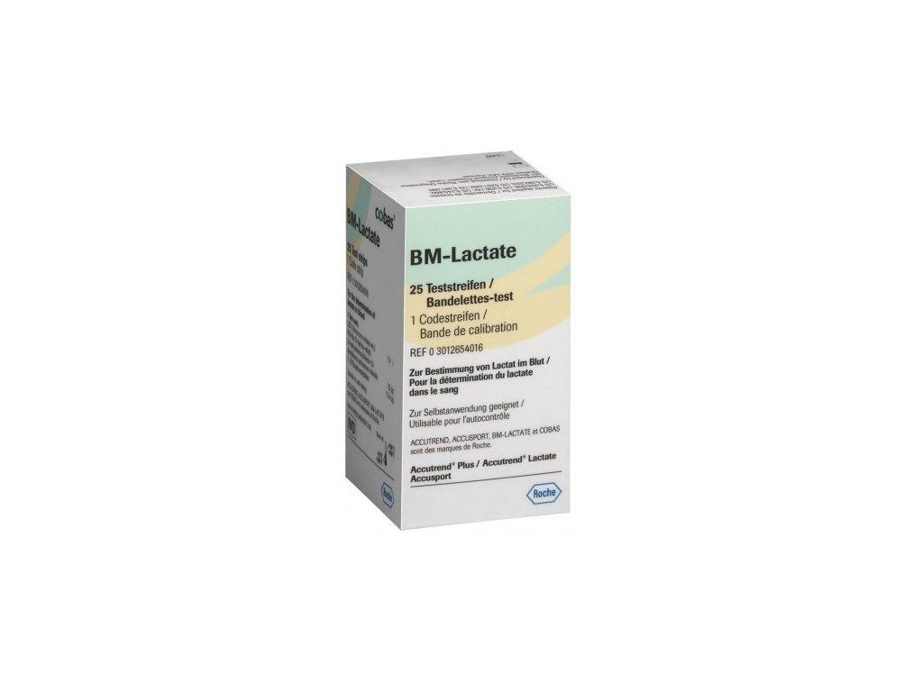 Měřící proužky Roche Accutrend Lactate