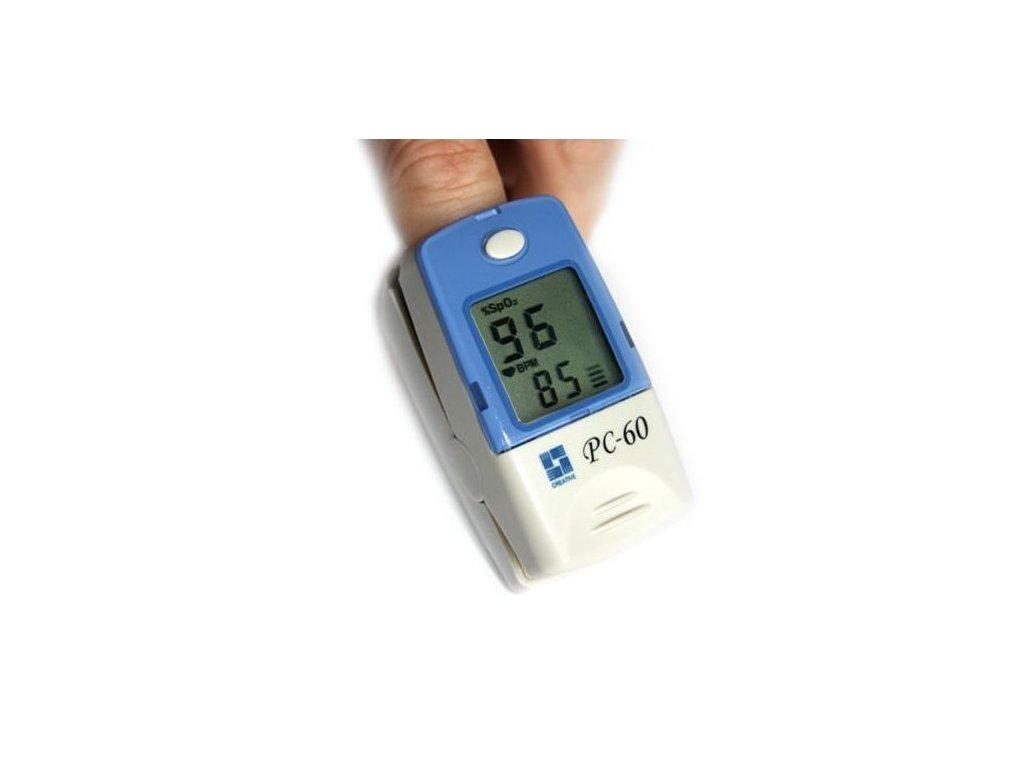 Prstový pulzní oxymetr PC-60A