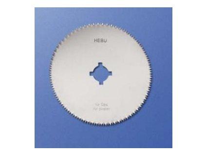 Okrouhlý pilový list HEBU na klasické sádry