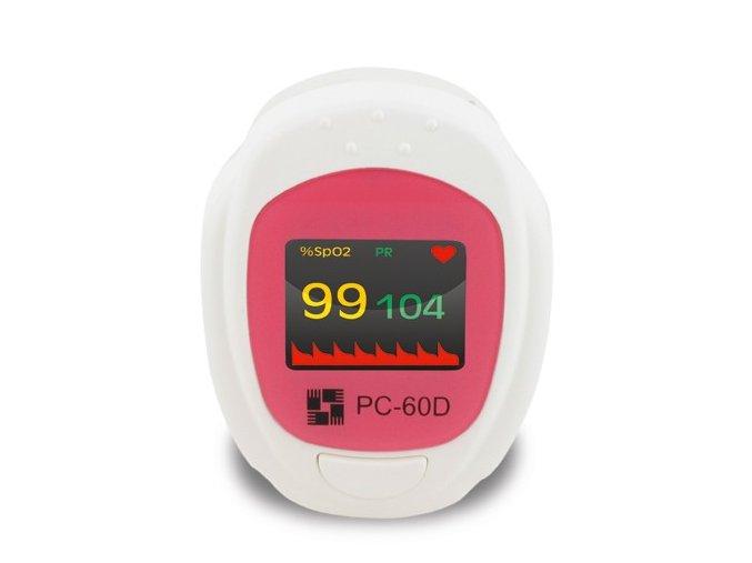Prstový pulzní oxymetr PC-60D