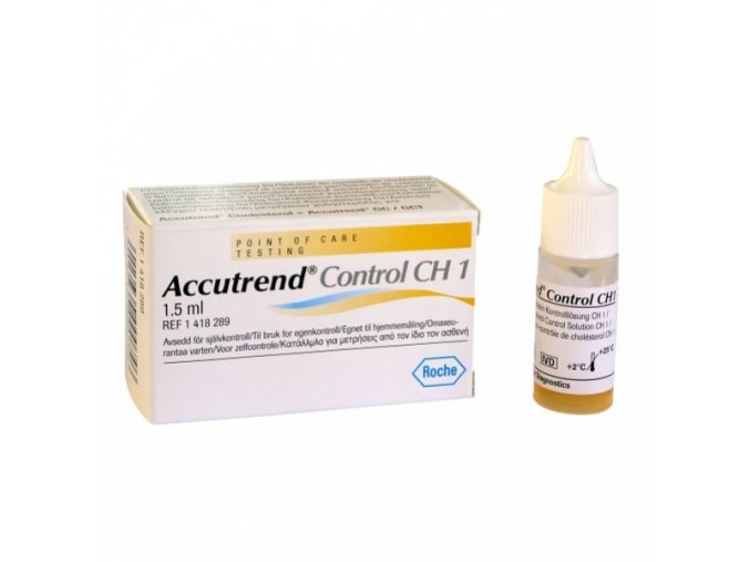 Testovací roztok Roche Accutrend Control CH1