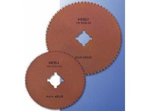 Okrouhlý pilový list HEBU s nelepivým povrchem