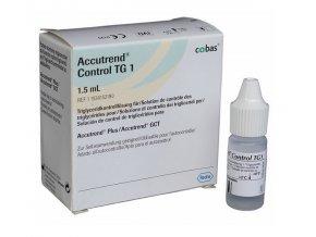 Testovací roztok Roche Accutrend Control TG1