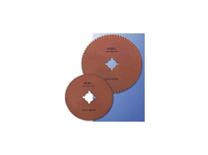 Okrúhly pílový list HEBU s nelepivým povrchom