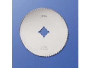Okrúhly pílový list HEBU na syntetickej sadry
