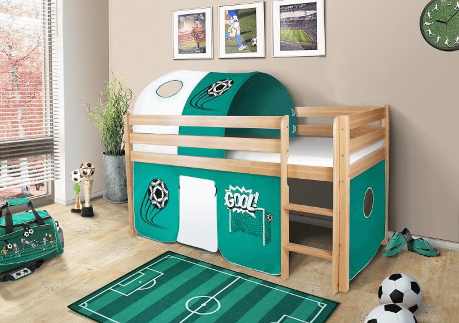 vyvýšená posteľ
