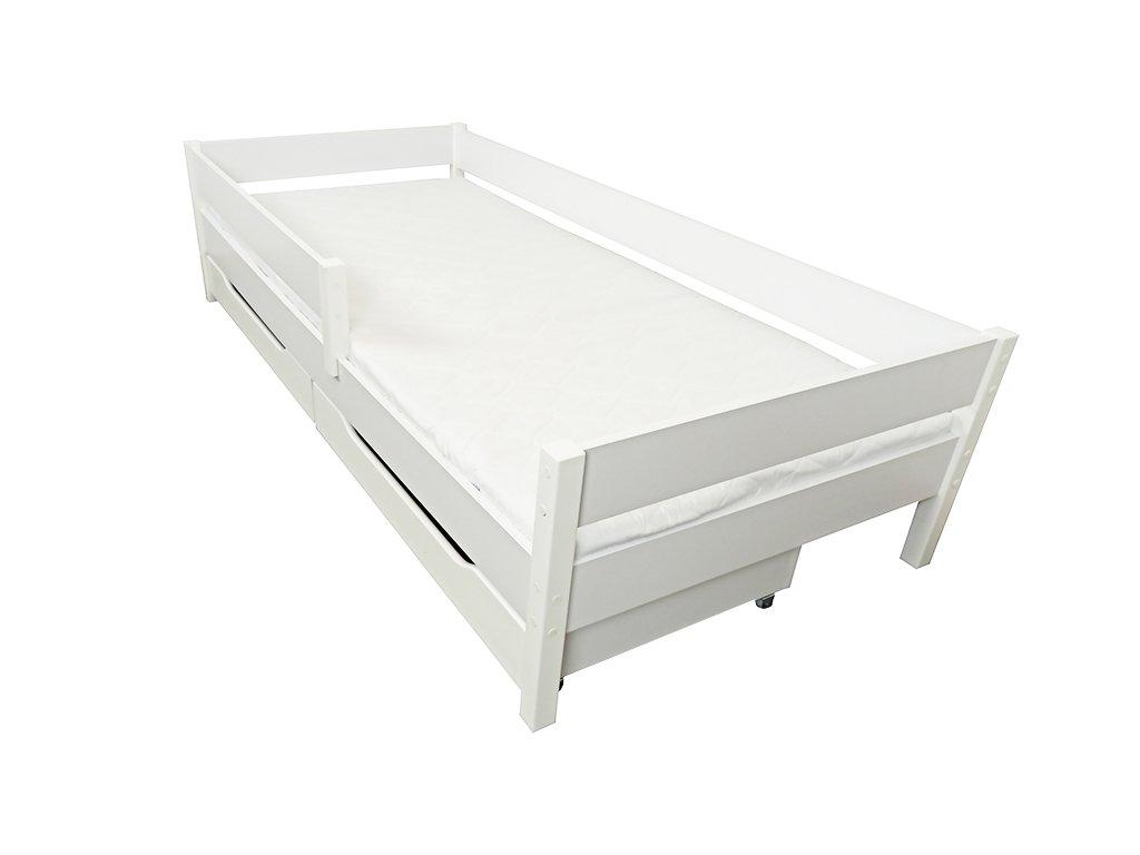 Olcsó gyerekágyak MIX 140x70 fehér