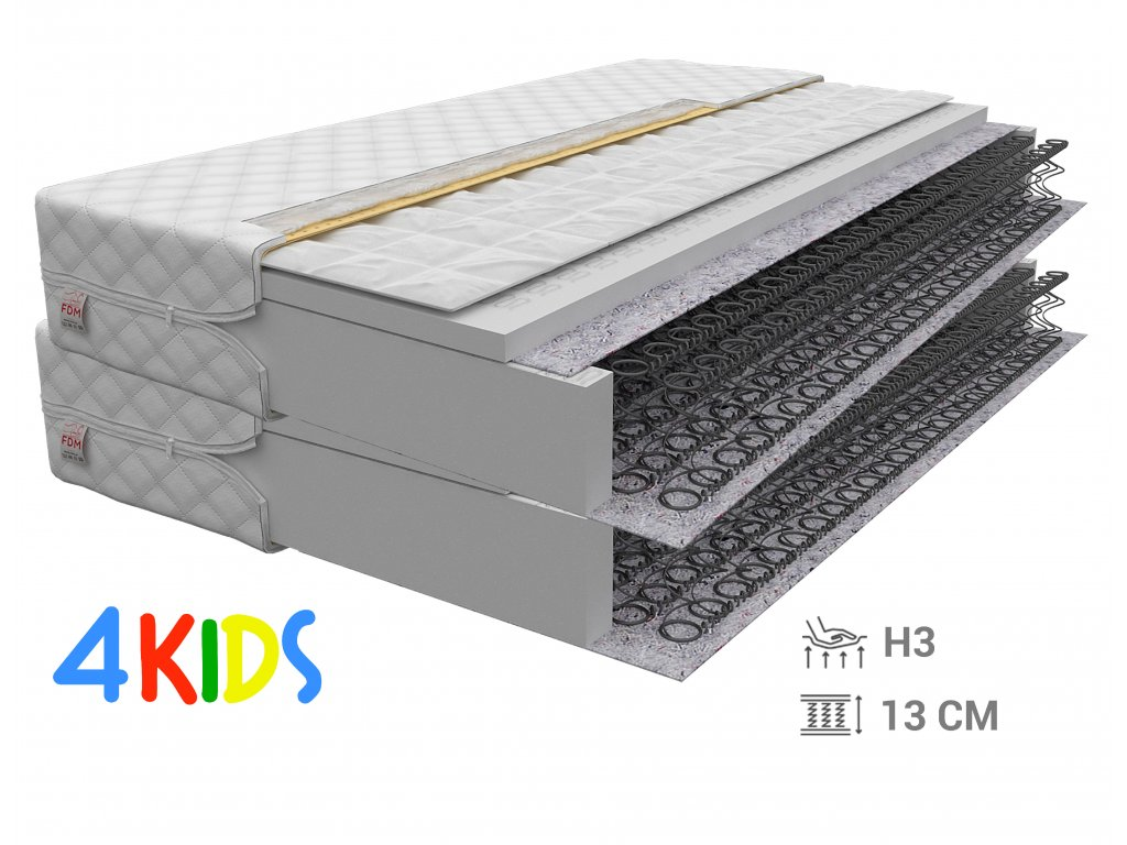 Hajdina matracok Bambino Normal 90x200 (2 db) - 1+1