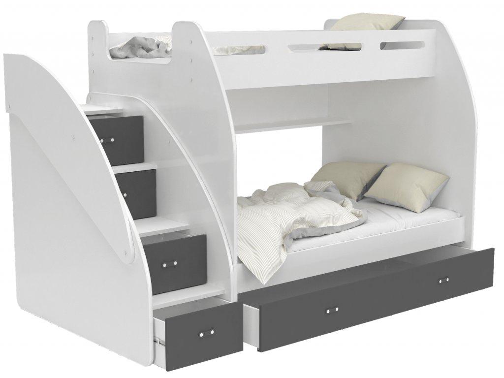 Multifunkčná poschodová posteľ Max 3