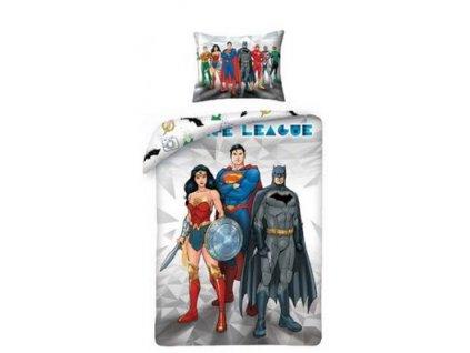 Detské obliečky Superman a Batman 8101BL - výpredaj