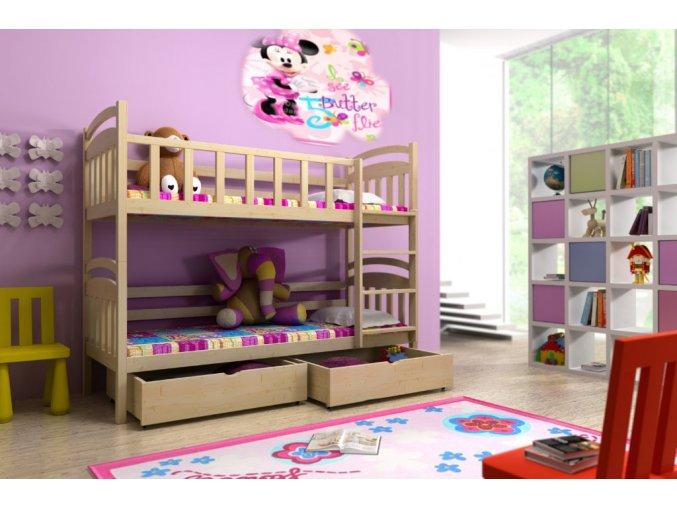 Paula 5 200x90 emeletes ágyak