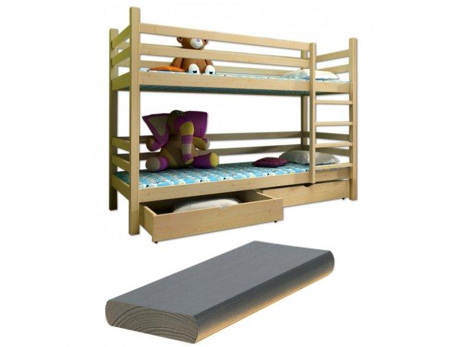 Paula 8 200x90 emeletes ágyak