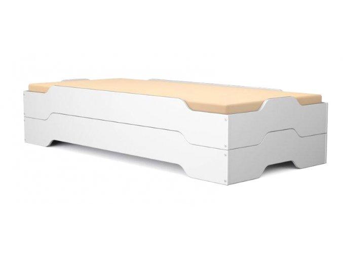 Szétszedhető ágyak Mia Fehér 200X90