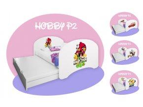 Hobby P2 160x80 gyerekágy kihúzható vendégággyal