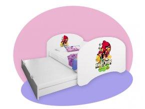 Ágy vendégággyal Hobby P2 200x90