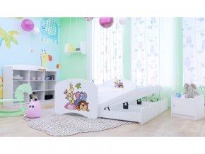 Gyerekágy pótággyal Happy P2 180x90 - 25 minta