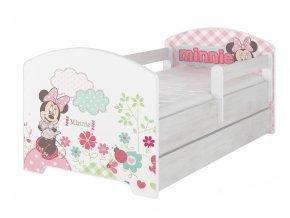 42284 detske postele pre dievcata minnie 160x80
