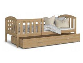 12513 lukacs p detska postel 190x80 borovica