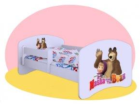 Mása és a medve - Hobby gyerekágy 140x70