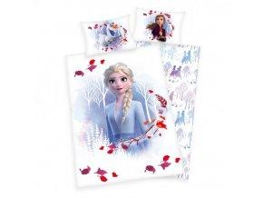 Pamut gyerek ágyneműhuzat 100x135+40x60 - Frozen